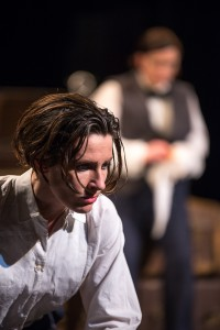 Broken Crow's toast of the pre-war scene. A NEW PLAY BY AIDEEN WYLDE, STARRING AIDEEN WYLDE & GEORGE HANOVER CO-DIRECTED BY VERONICA COBURN & BRYAN BURROUGHS, MUSICAL DIRECTION BY JOHN O'BRIEN   LYRICS BY GER FITZGIBBON. phot. Marcin Lewandowski / soundofphotography.com ©